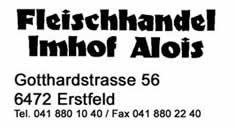 Fleischhandel Imhof Alois